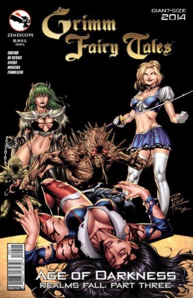 Grimm Fairy Tales Giant Size 5 Giant Size 2014: Realms Fall, Part 3