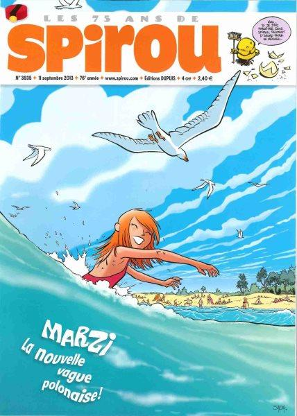 Spirou - Hebdo 2013 (76e année) 3935 Numéro 3935