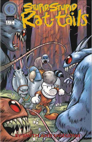 Stupid, stupid rat tails 2 Issue #2