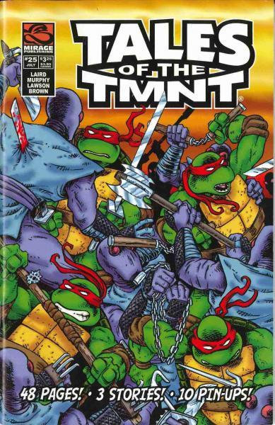 Tales of the Teenage Mutant Ninja Turtles 25 Issue #25
