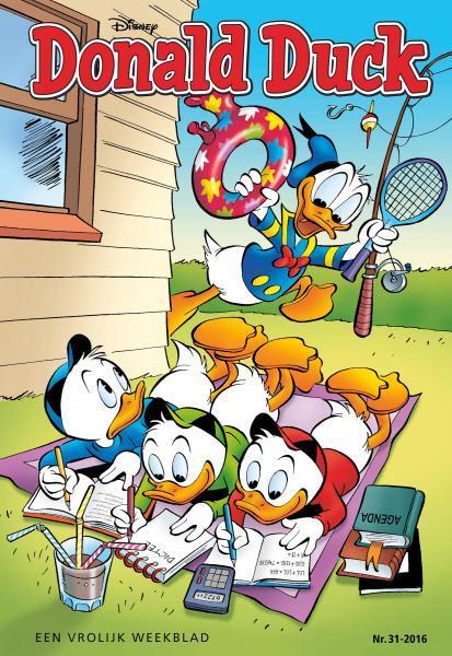 Donald Duck weekblad - 2016 (jaargang 65) 31 Nummer 31