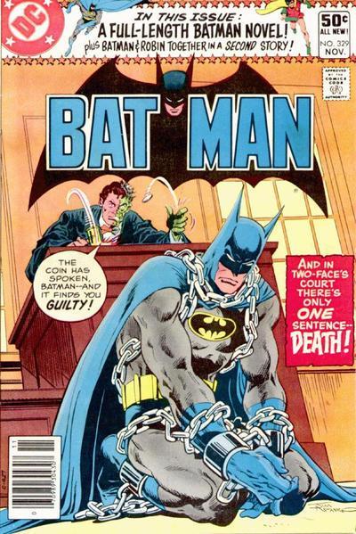 Batman 329 Twice Dies the Batman!
