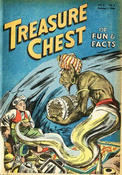 Treasure Chest of Fun and Fact, Vol. 2 3 Issue #3