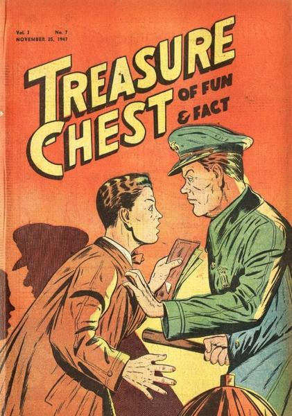 Treasure Chest of Fun and Fact, Vol. 3 7 Issue #7