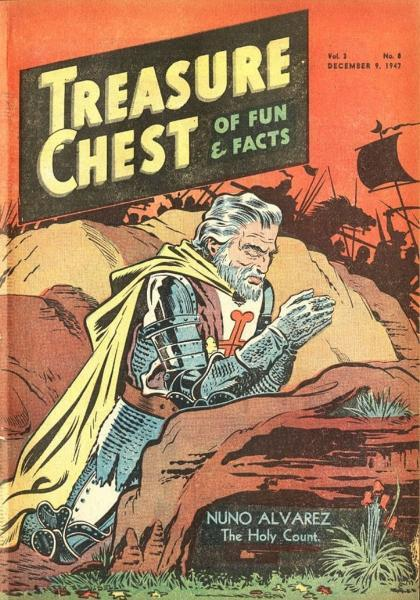 Treasure Chest of Fun and Fact, Vol. 3 8 Issue #8