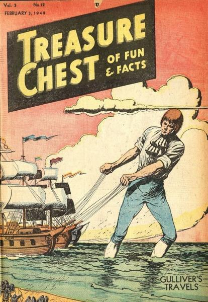 Treasure Chest of Fun and Fact, Vol. 3 12 Issue #12