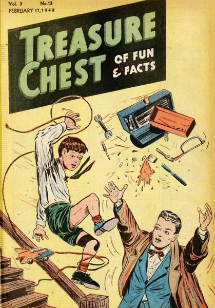 Treasure Chest of Fun and Fact, Vol. 3 13 Issue #13