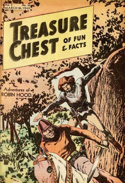 Treasure Chest of Fun and Fact, Vol. 3 16 Issue #16