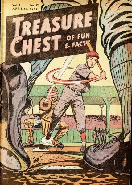 Treasure Chest of Fun and Fact, Vol. 3 17 Issue #17