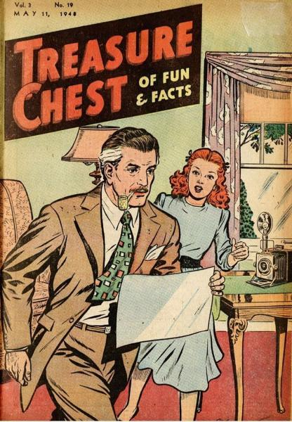 Treasure Chest of Fun and Fact, Vol. 3 19 Issue #19