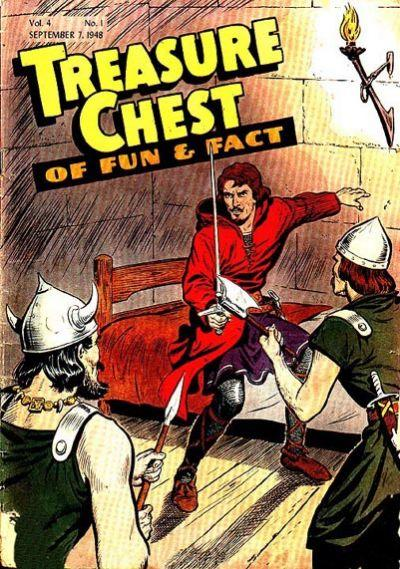 Treasure Chest of Fun and Fact, Vol. 4 1 Issue #1