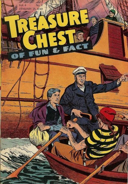 Treasure Chest of Fun and Fact, Vol. 4 11 Issue #11