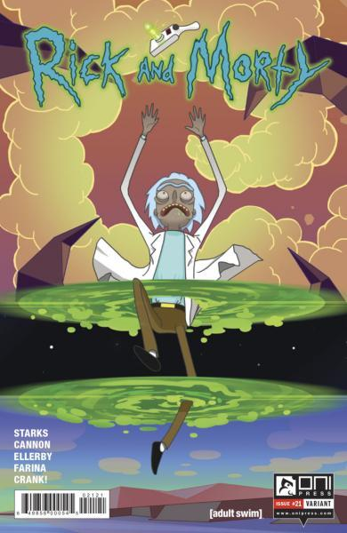 Rick and Morty 21 Issue #21