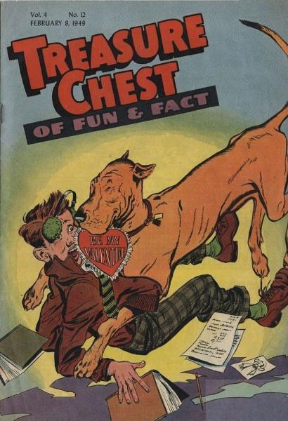 Treasure Chest of Fun and Fact, Vol. 4 12 Issue #12