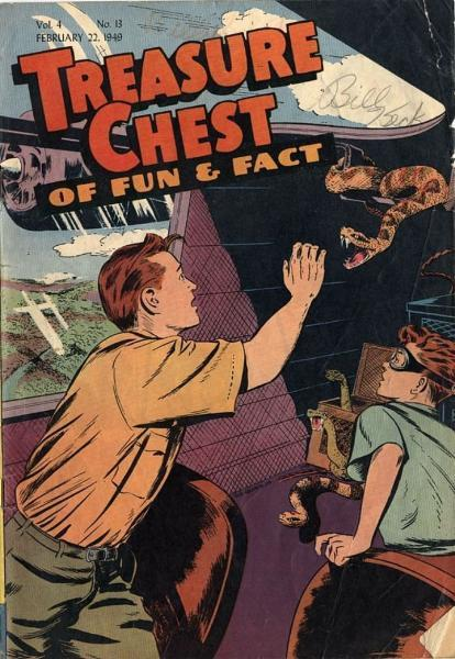 Treasure Chest of Fun and Fact, Vol. 4 13 Issue #13