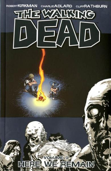 The Walking Dead INT 9 Here We Remain