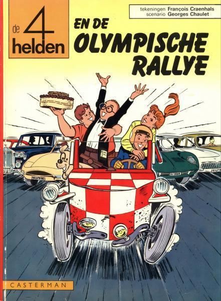 De 4 helden 11 En de olympische rallye