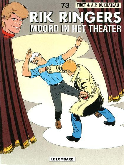 Rik Ringers 73 Moord in het theater