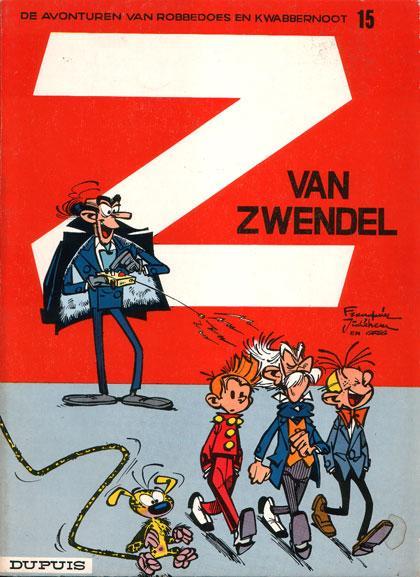 Robbedoes en Kwabbernoot 15 Z van Zwendel
