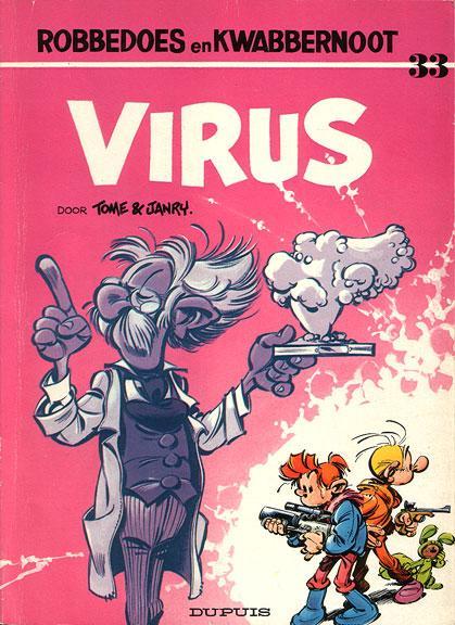 Robbedoes en Kwabbernoot 33 Virus