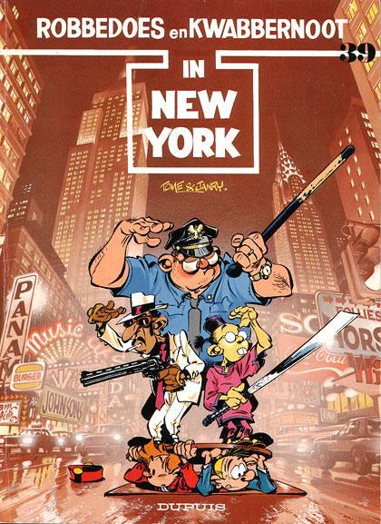Robbedoes en Kwabbernoot 39 In New York
