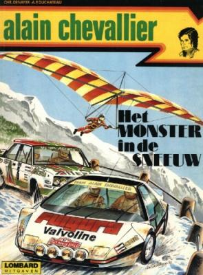 Alain Chevallier A3 Het monster in de sneeuw