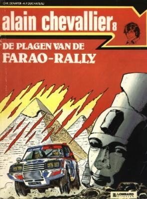 Alain Chevallier A8 De plagen van de Farao-Rally