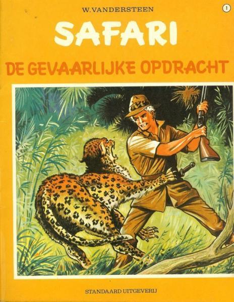 Safari 1 De gevaarlijke opdracht