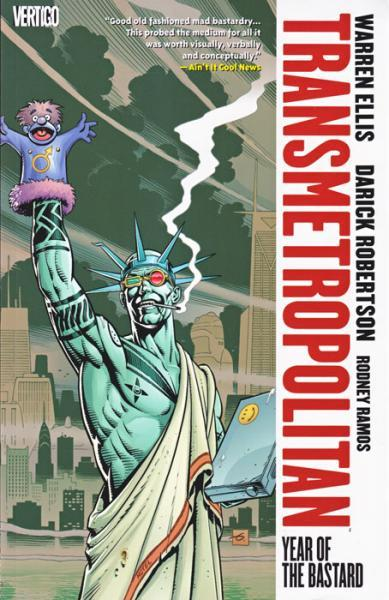Transmetropolitan INT 3 Year of the Bastard