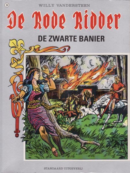 De Rode Ridder 24 De zwarte banier