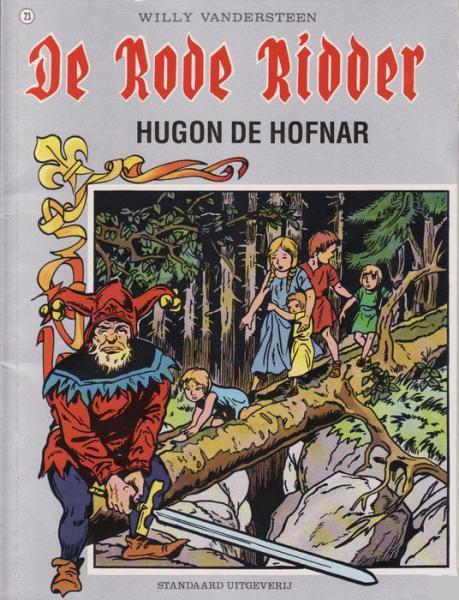 De Rode Ridder 23 Hugon de hofnar