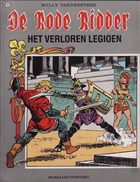 De Rode Ridder 78 Het verloren legioen