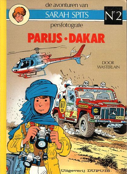 Sarah Spits 2 Parijs-Dakar
