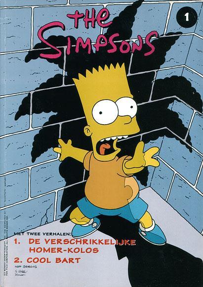 The Simpsons 1 De verschrikkelijke Homer-Kolos / Cool Bart