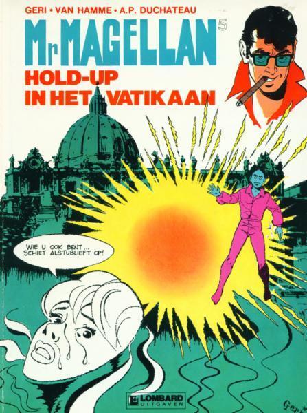 Mr. Magellan 5 Hold-up in het Vatikaan
