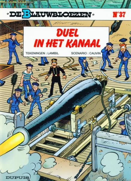 De Blauwbloezen 37 Duel in het kanaal
