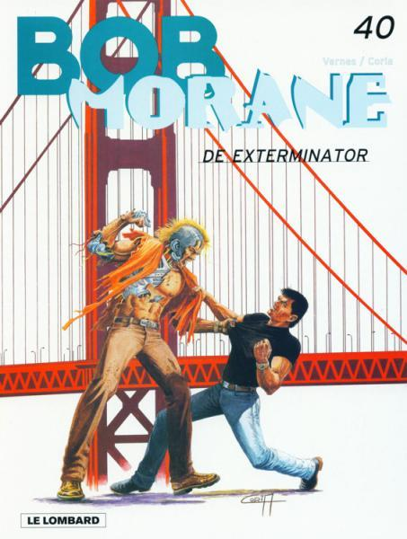 Bob Morane (Lombard/Helmond) 40 De exterminator