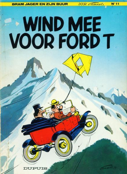 Bram Jager en zijn buur 11 Wind mee voor Ford T