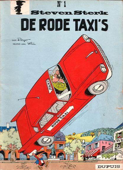 Steven Sterk 1 De rode taxi's
