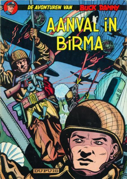 Buck Danny 6 Aanval in Birma