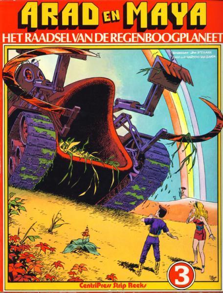 Arad en Maya 3 Het raadsel van de Regenboogplaneet