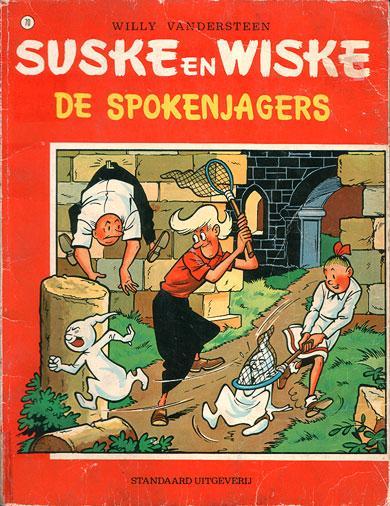 Suske en Wiske 70 De spokenjagers
