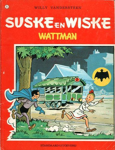 Suske en Wiske 71 Wattman