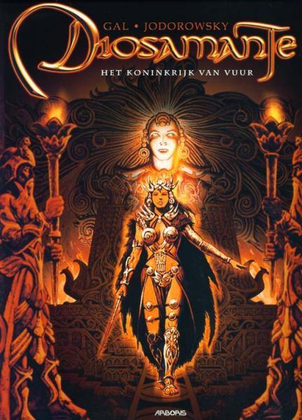 Diosamante 1 Het koninkrijk van vuur