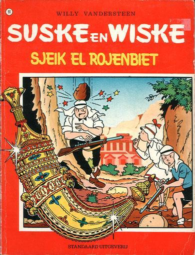 Suske en Wiske 90 Sjeik El Rojenbiet