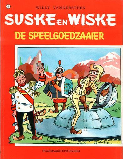 Suske en Wiske 91 De speelgoedzaaier