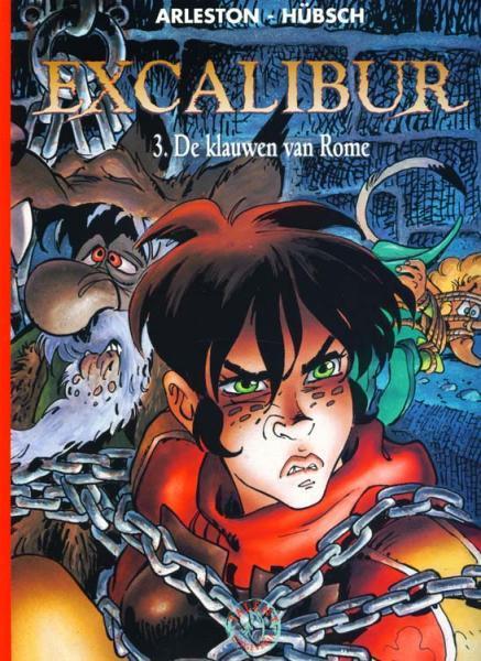 Excalibur (Hübsch) 3 De klauwen van Rome