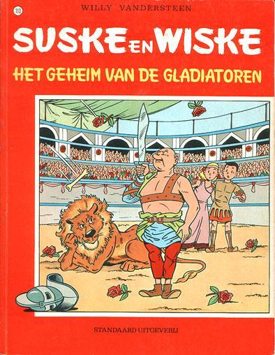Suske en Wiske 113 Het geheim van de gladiatoren
