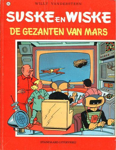 Suske en Wiske 115 De gezanten van Mars