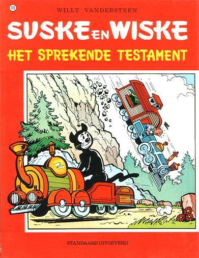 Suske en Wiske 119 Het sprekende testament